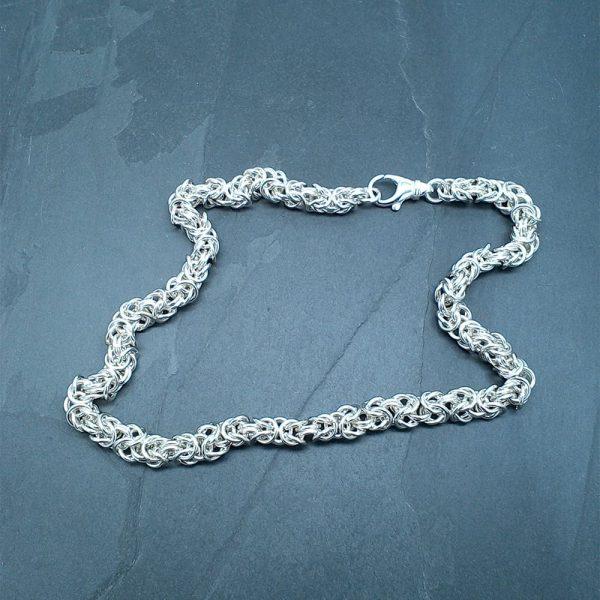 Chunky Byzantine Necklace