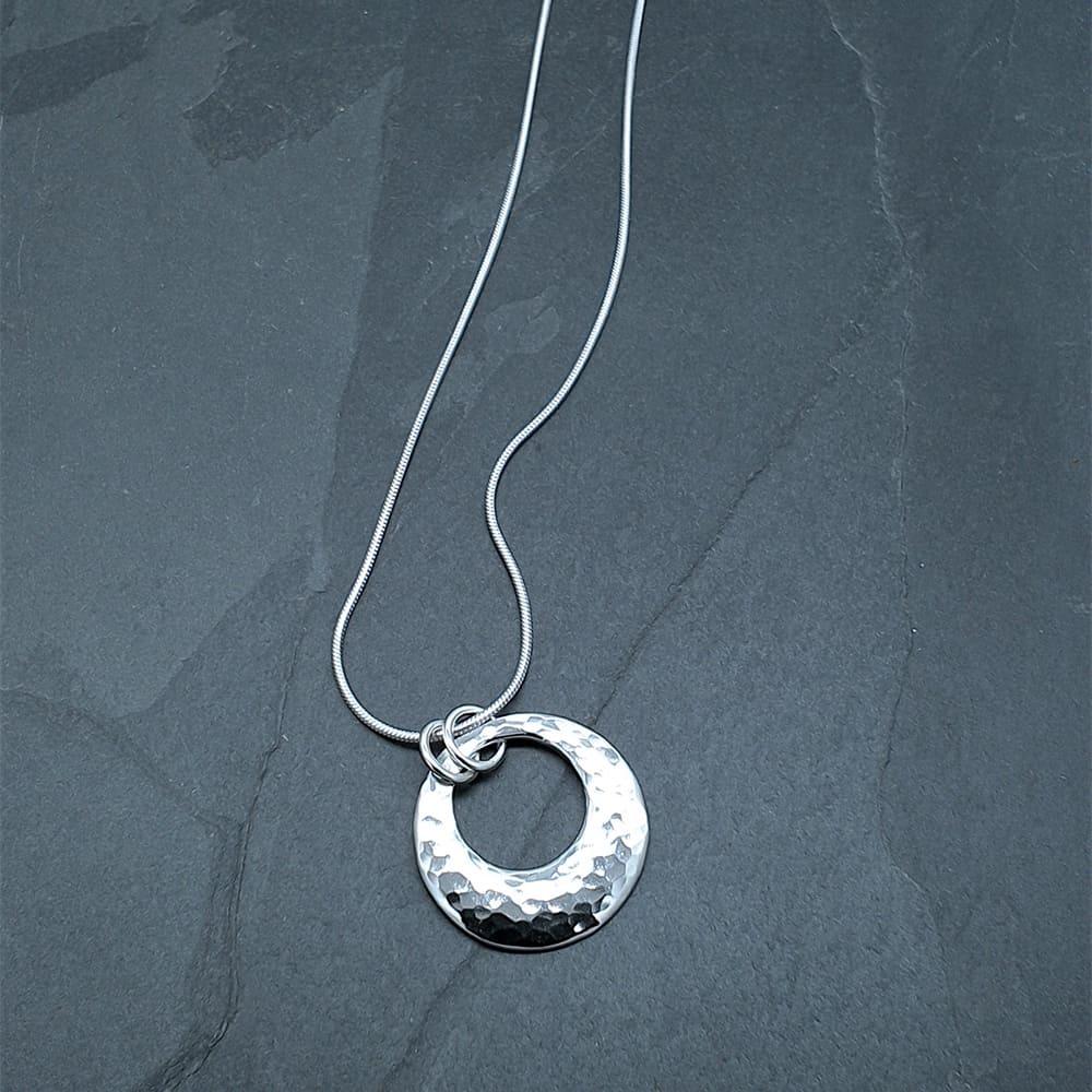 Circle of love pendant db silversmith designs circle of love pendant aloadofball Choice Image
