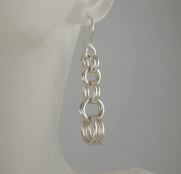 Cascading Rings Earrings
