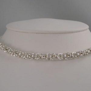 Byzantine Necklace- Fine Gauge